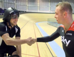Danny MacAskill Takes To The Track With Sir Chris Hoy